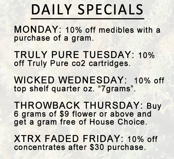 Medical Marijuana Dispensary Daily Deals